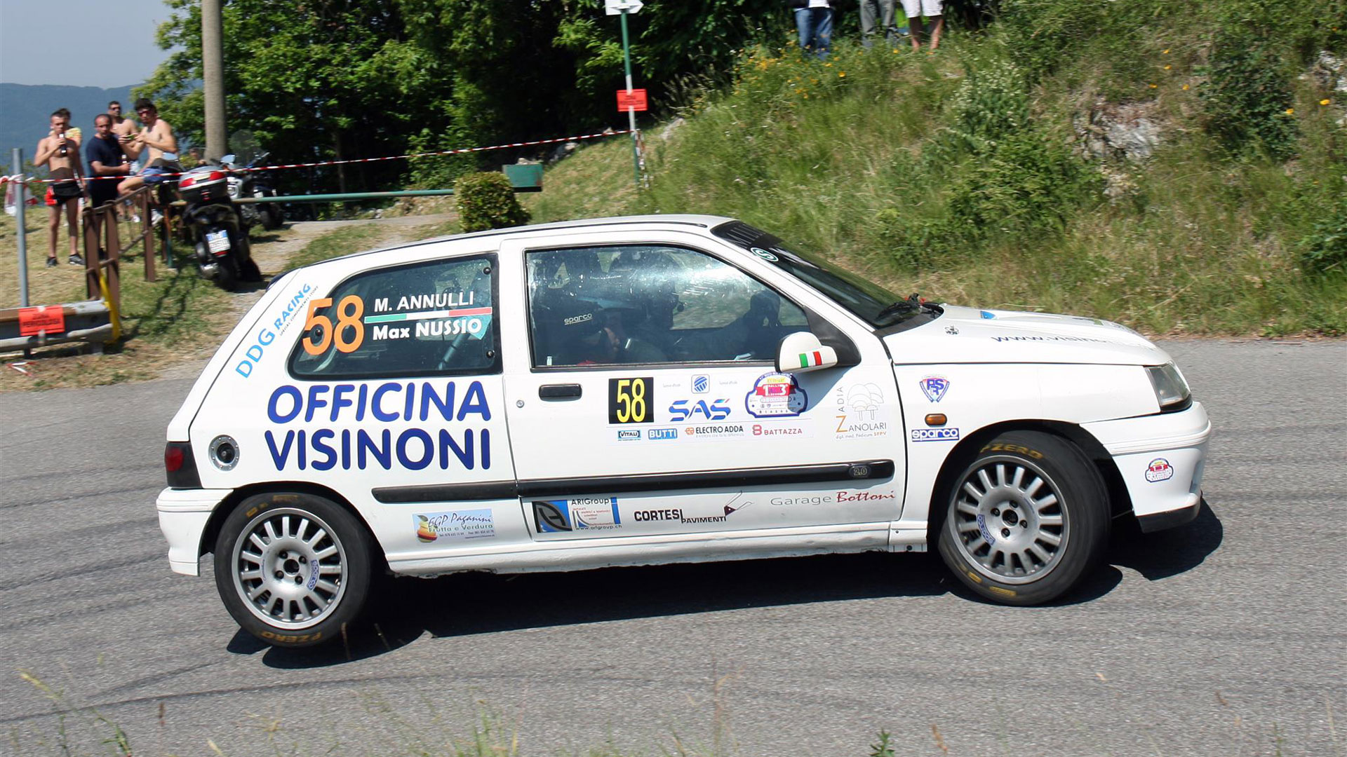 Max Nussio Rally
